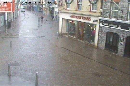 Galway Webcam, Shop Street