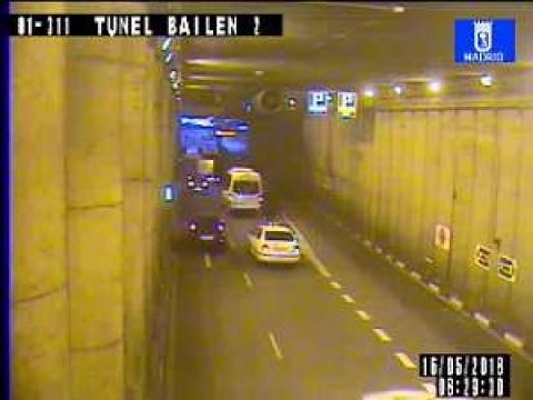 Traffic in Tunel Bailen 2