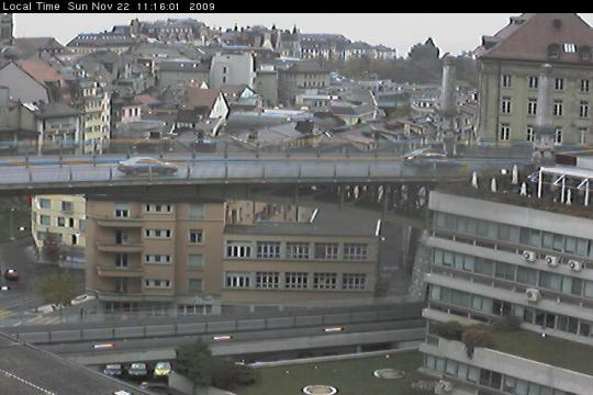 Vaud Webcam, Lausanne city view
