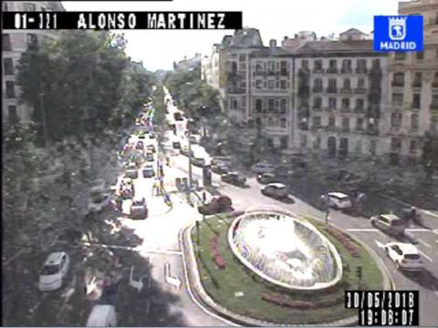 Alonso Martínez Traffic