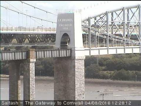 Devon Webcam, Plymouth Royal Albert Bridge