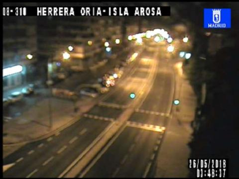 Traffic  in Herrera Oria – Isla Arosa
