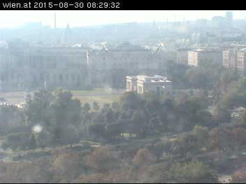 Vienna Webcam, Wien Theseus-Tempel