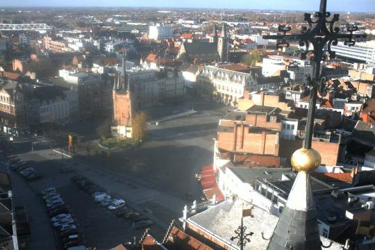 West Flanders Webcam, Kortrijk city view