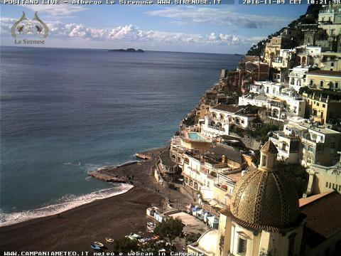 Campania Webcam, Positano