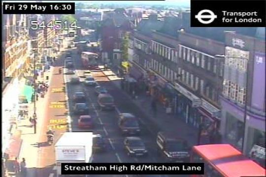 London Webcam, Streatham High Rd