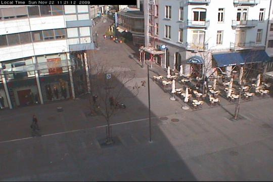 Valais Webcam, Sion city centre