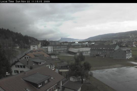 Vaud Webcam, Le Sentier city