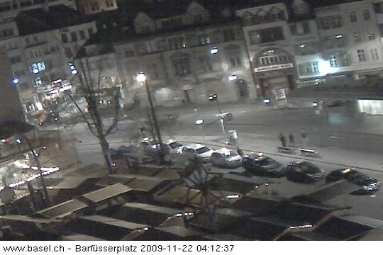 Basel Webcam, City center