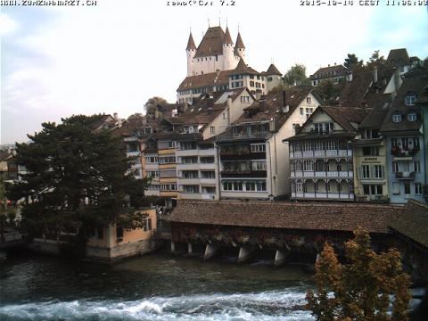 Berne Webcam, Thun Castle
