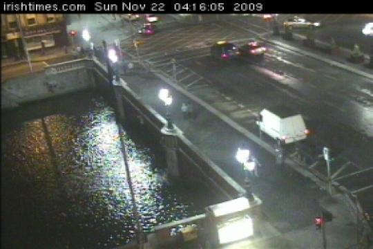 Dublin Webcam, O'Connel Bridge
