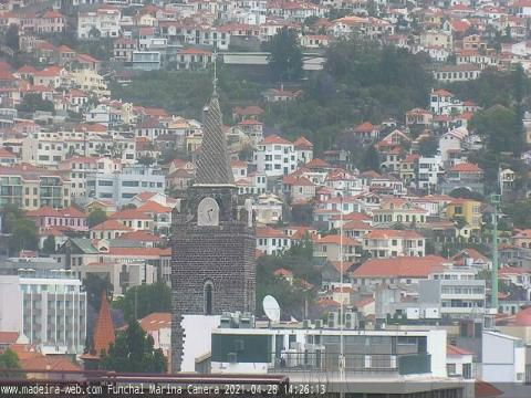 Madeira Webcam, Funchal Cathedral