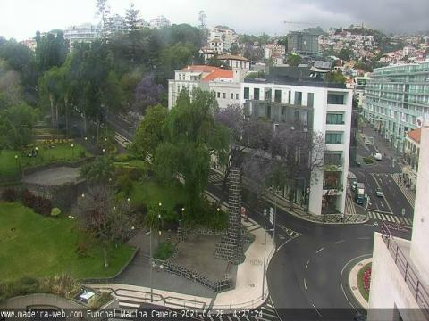 Madeira Webcam, Parque Santa Catarina