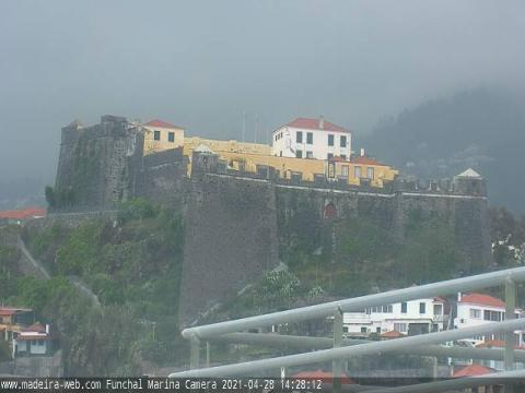 Madeira Webcam, Pico Fortress