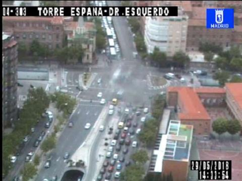 Traffic in Torre España- Doctor Esquerdo