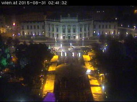 Vienna Webcam, Wien Museum of Fine Arts