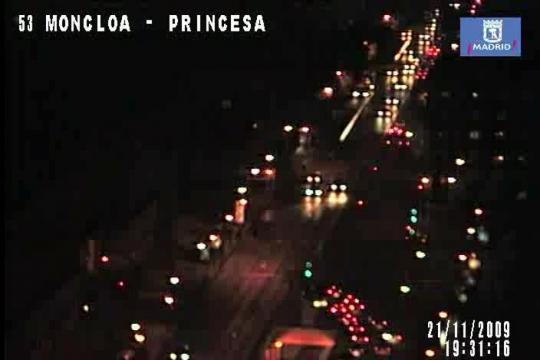 Madrid Webcam, Princesa street
