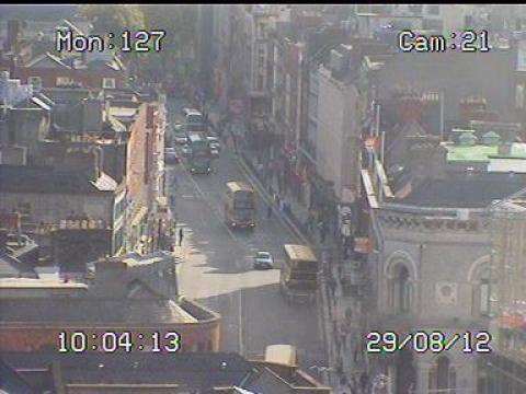 Dublin Webcam, Dame St.