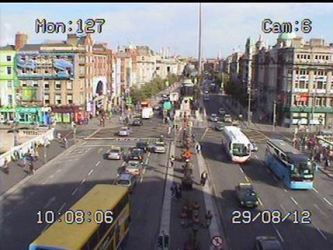 Dublin Webcam, O'Connel St.