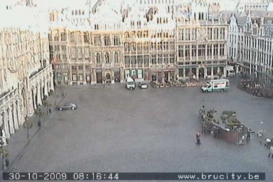 Brussels Webcam, Grand-Place de Bruxelles
