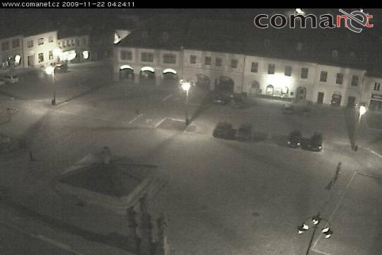 Liberec Webcam, Jilemnice square