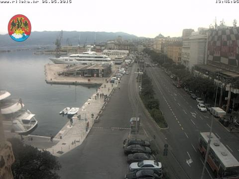 Primorje-Gorski Webcam, Rijeka Harbour