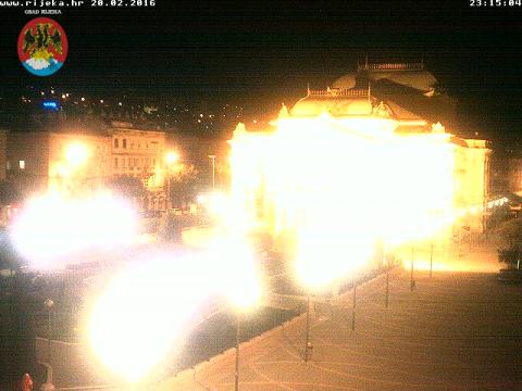 Primorje-Gorski Webcam, Rijeka Park Theater