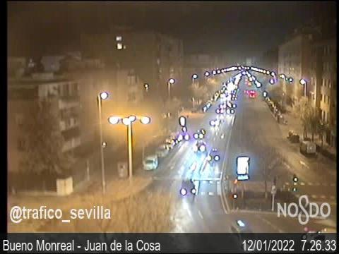 Traffic in Bueno Monreal – Juan de la Cosa