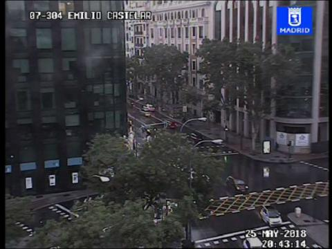 Traffic in Plaza de Emilio Castelar