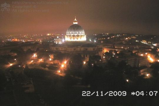 Vatican Webcam, Saint Peter's Cupule