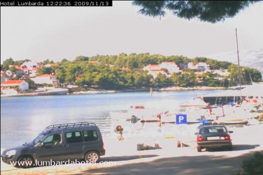 Korčula Webcam, Lumbarda bay