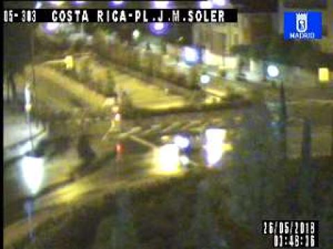 Traffic in Costa Rica – Plaza José María Soler