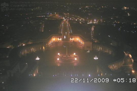 Vatican Webcam, Saint Peter's Square