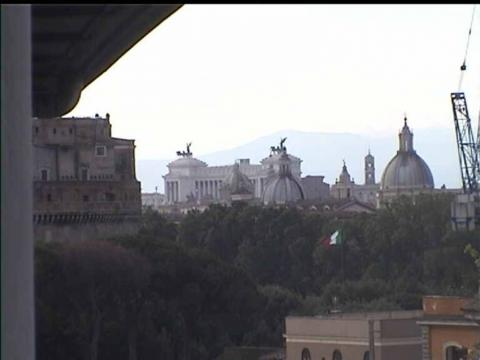 Rome Webcam, Saint Peter's Dome