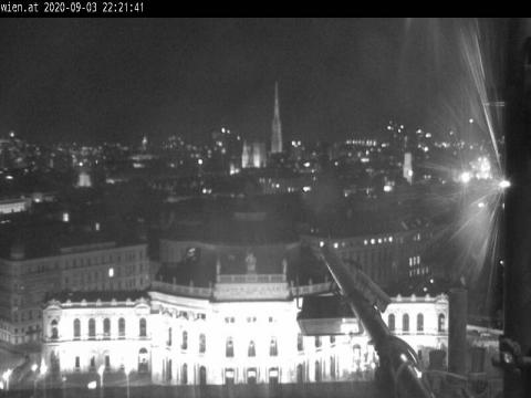Vienna Webcam, Wien Burgtheater