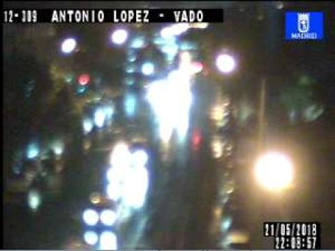 Traffic in Antonio López – Vado