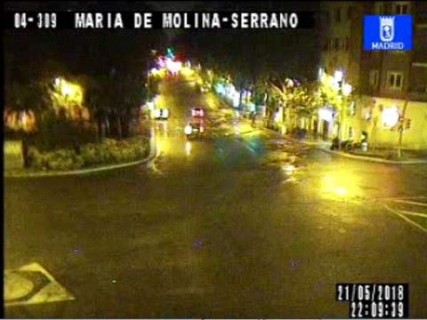 Traffic in Serrano – Plaza Independencia