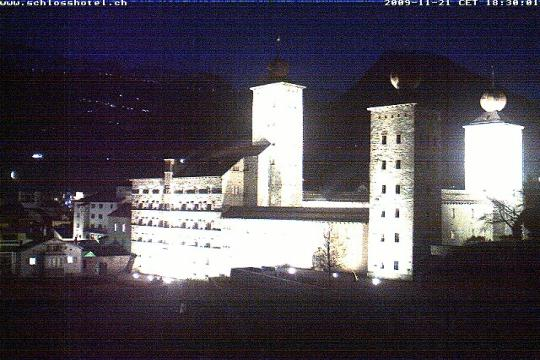 Valais Webcam, Brig Castle