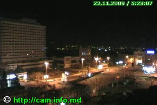 Chisinau Webcam, Chisinau United Nations Square