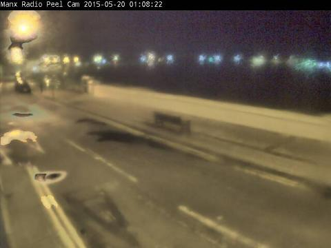 Isle Of Man Webcam, Peel Beach