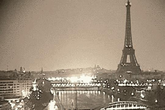 Paris webcam, Eiffel tower & Seine river