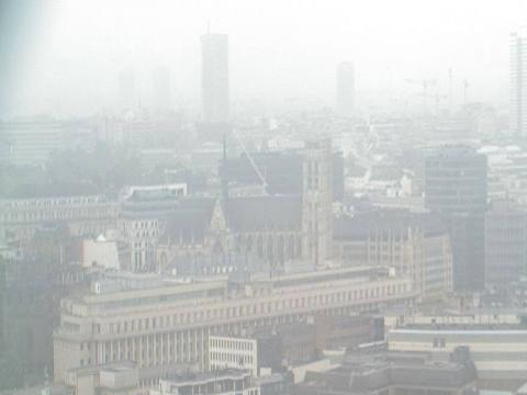Brussels Webcam, St Michael's Cathedral