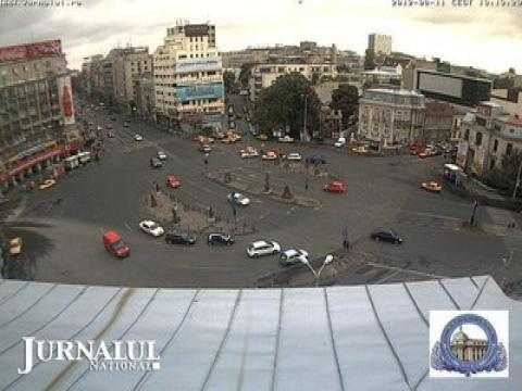 Bucharest Webcam, Bucharest Piata Romana