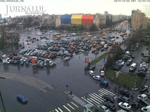 Bucharest Webcam, Bucharest Victory Square