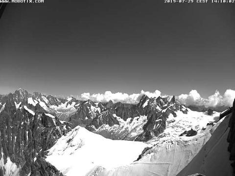 Chamonix Webcam, White Valley