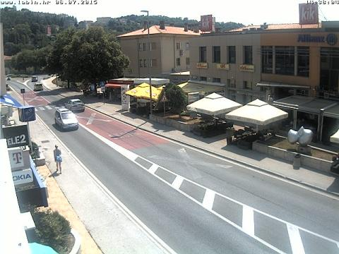 Istria Webcam, Labin downtown