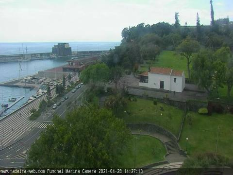 Madeira Webcam, Cruise Ships