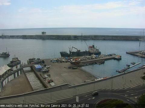 Madeira Webcam, Funchal Harbour