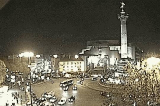 Paris webcam, Place de la Bastille