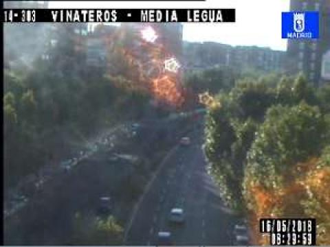 Traffic in AV. Vinateros – A. Media Legua